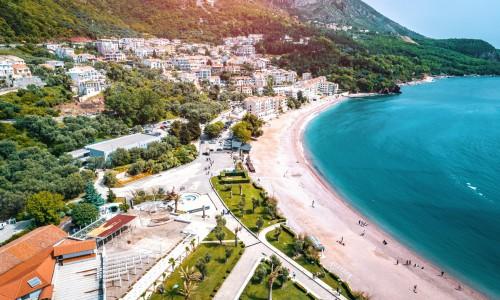 Czarnogóra piękna plaża