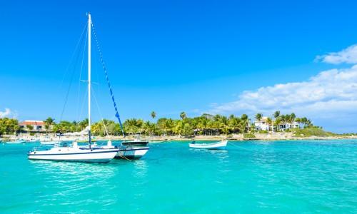 Katamaran na Karaibach