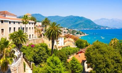 Czarnogóra widok na morze