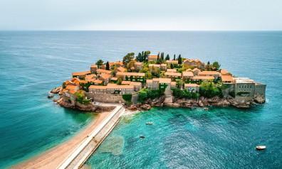 Czarnogóra wyspa Sveti Stefan