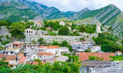 Czarnogóra miasto oraz mury obronne