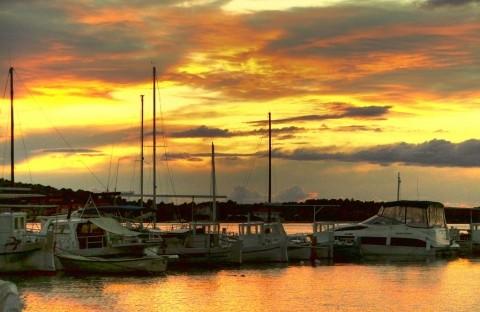 Zdjęcie z rejsu żeglarskiego Murter
