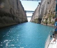 Zdjęcie z rejsu żeglarskiego Kanał Koryncki