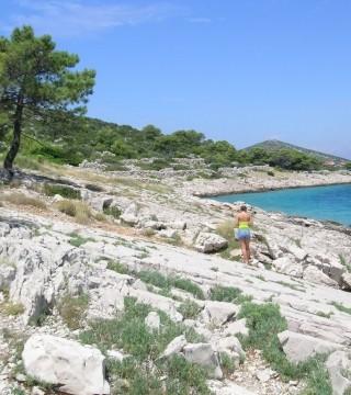 Zdjęcie z rejsu żeglarskiego Kaprije: Prywatny wypoczynek na plaży Portić